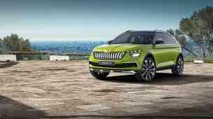 Vision X je Škodin vsestranski hibridni avtomobil