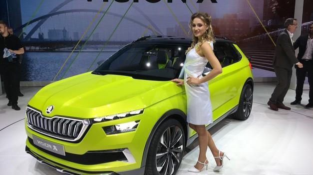 Ženeva 2018: Škoda Fabia le še na bencin, Vision X pa tudi na zemeljski plin in elektriko (foto: Dušan Lukič)