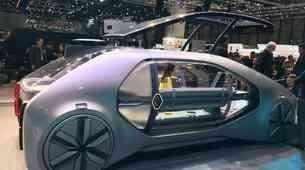 Ženeva 2018: Renault EZ-GO združuje električni avtomobil in dnevno sobo