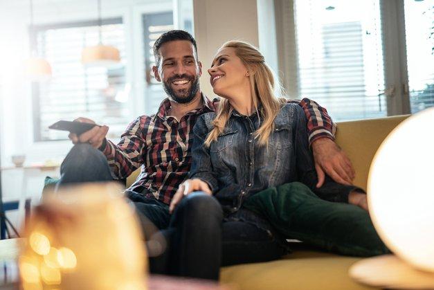 Kako ustvariti pravo razpoloženje - s televizorjem! (foto: Shutterstock)