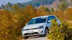 Kratki test: Volkswagen e-Golf
