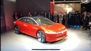 Ženeva 2018: VW Vizzion je še kako resničen