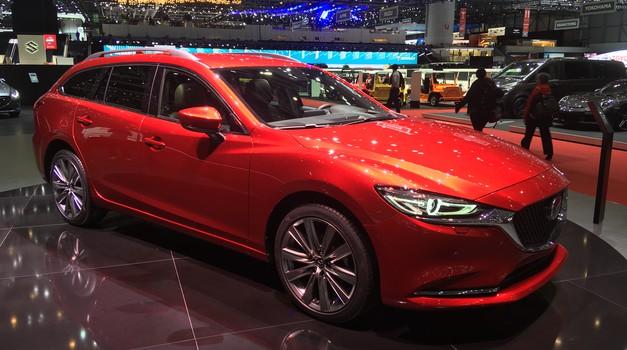 Ženeva 2018: Mazda s prenovljeno Mazdo6 in (znanim) konceptom Vision Coupe (foto: Dušan Lukič)