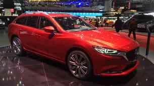 Ženeva 2018: Mazda s prenovljeno Mazdo6 in (znanim) konceptom Vision Coupe