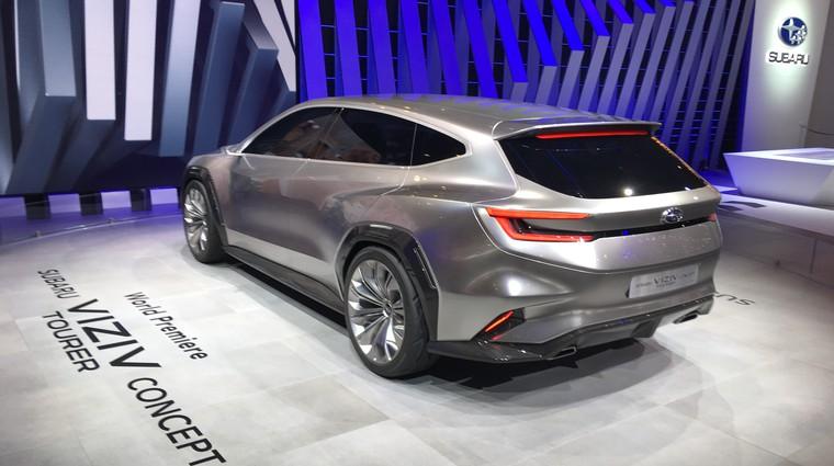 Ženeva 2018: Koncept Subaru Viziv tudi kot karavan (foto: Dušan Lukič)