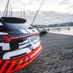 Audi v Ženevo pripeljal električnega E-trona, a so s podatki še precej skopi (foto: Audi)