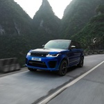 Video: Range Rover podrl Ferrarijev rekord na gorski cesti Tianmen (foto: Range Rover)