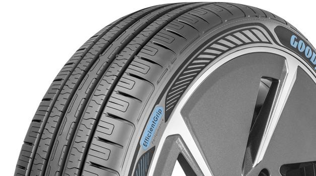 Goodyear pripravil nove pnevmatike, narejene posebej za električne avtomobile (foto: Goodyear)