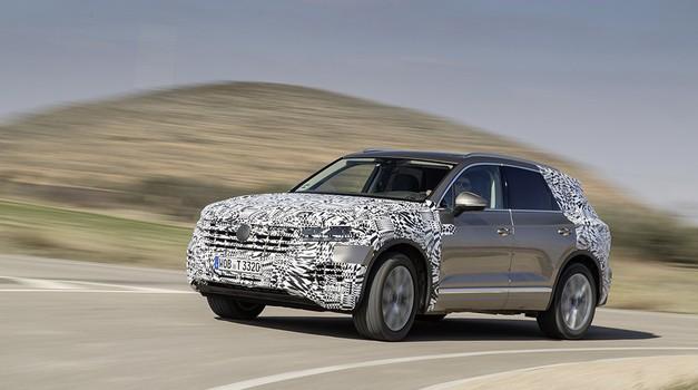 Video: Novi Touareg prihaja 23. marca (foto: Volkswagen)