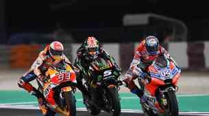 MotoGP, Katar: Kaže, da se je ločen razvoj Rossijevega dirkalnika obrestoval