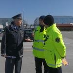 Agencija za varnost v prometu v sklopu terenske akcije uporabe varnostnega pasu predstavila nov simulator (foto: Jure Šujica)
