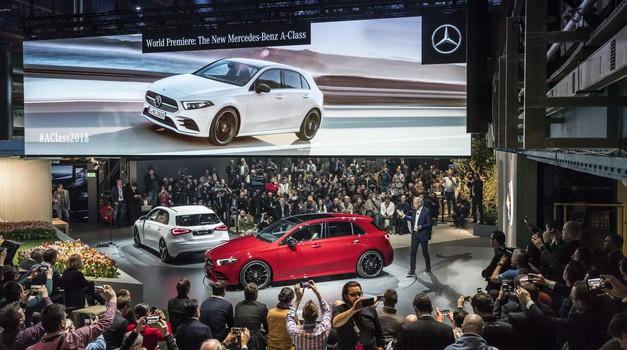 A-jev naslednji korak: predstavljamo novega Mercedes-Benza razreda A (foto: Tomaž Porekar)