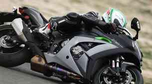 Prvi vtis: pametno vzmetenje na Kawasakiju Ninja ZX-10R SE