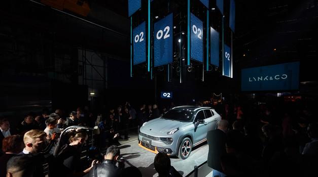 Lynk&Co je pripravil evropsko predstavitev svojega tretjega modela (foto: Lynk&Co)