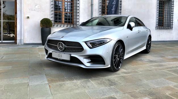 Novo v Sloveniji: Mercedes-Benz CLS je všečen in napreden avtomobilski paket (foto: Sebastjan Plevnjak)