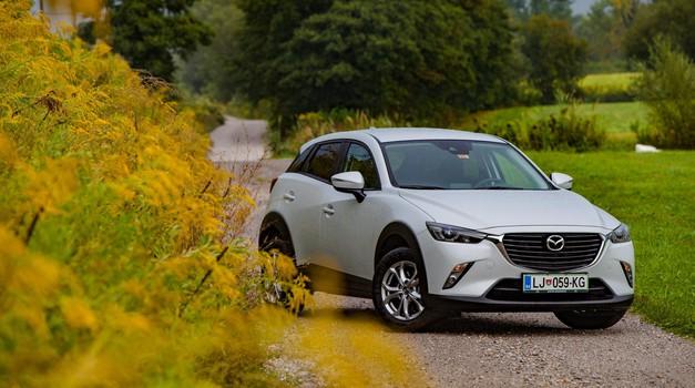 Test: Mazda CX-3 - G120 Attraction (foto: Saša Kapetanovič)