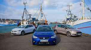 Primerjalni test: Volkswagen Polo, Seat Ibiza in Ford Fiesta