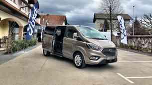 Novo v Sloveniji: Ford Tourneo Custom in Transit Custom