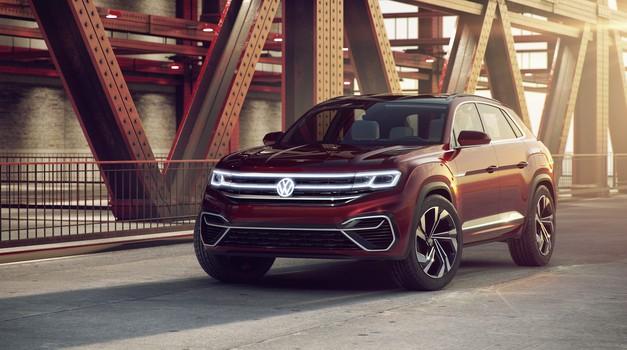 Volkswagen v New Yorku z dvema študijama na osnovi Atlasa (foto: VW)