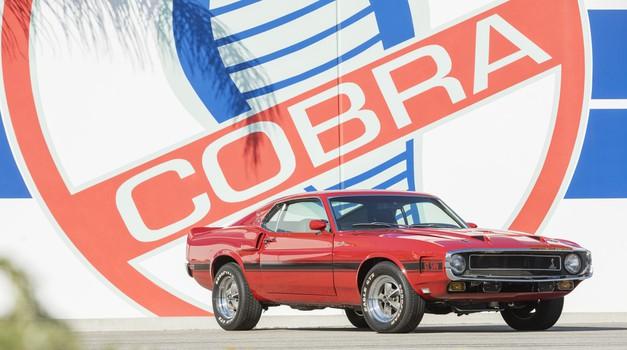 Na dražbo prihaja avtomobilska zbirka Carolla Shelbyja (foto: Bohnams)