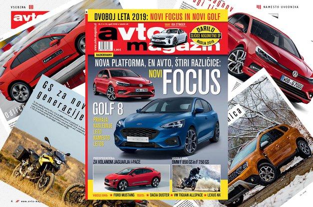 Izšel je novi Avto magazin! Testi: Kia Stinger, Dacia Duster, VW Tiguan Allspace (foto: MJ)