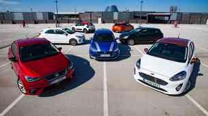 Primerjalni test manjših družinskih avtomobilov: Citroën C3, Ford Fiesta, Kia Rio, Nissan Micra, Renault Clio, Seat Ibiza, Suzuki Swift