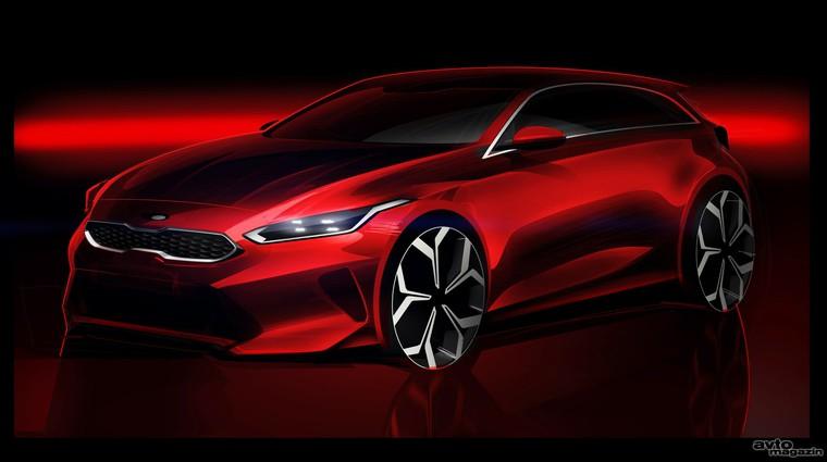 Kia Ceed GT na trgu spomladi prihodnje leto (foto: Kia)