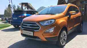Novo v Sloveniji: Ford EcoSport