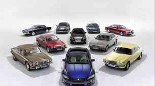 Jaguar XJ praznuje 50. rojstni dan