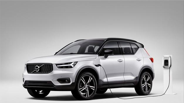 Do leta 2025 bo vsak drugi Volvo opremljen z elektromotorjem (foto: Volvo)