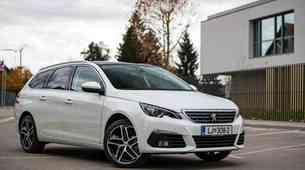 Kratki test: Peugeot 308 SW 1.6 BlueHDi 120 EAT6 Allure