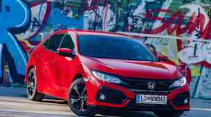 Kratki test: Honda Civic 1.0 Turbo Elegance
