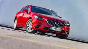 Kratki test: Mazda6 SportCombi CD150 Attraction