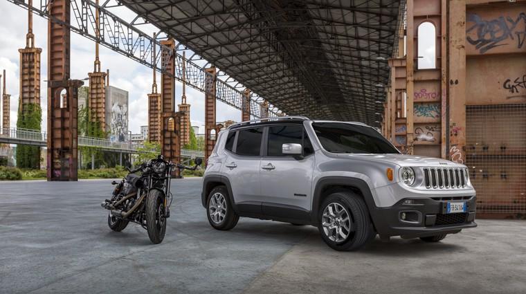 Ameriški legendi Jeep in Harley-Davidson znova združujeta moči (foto: FCA)