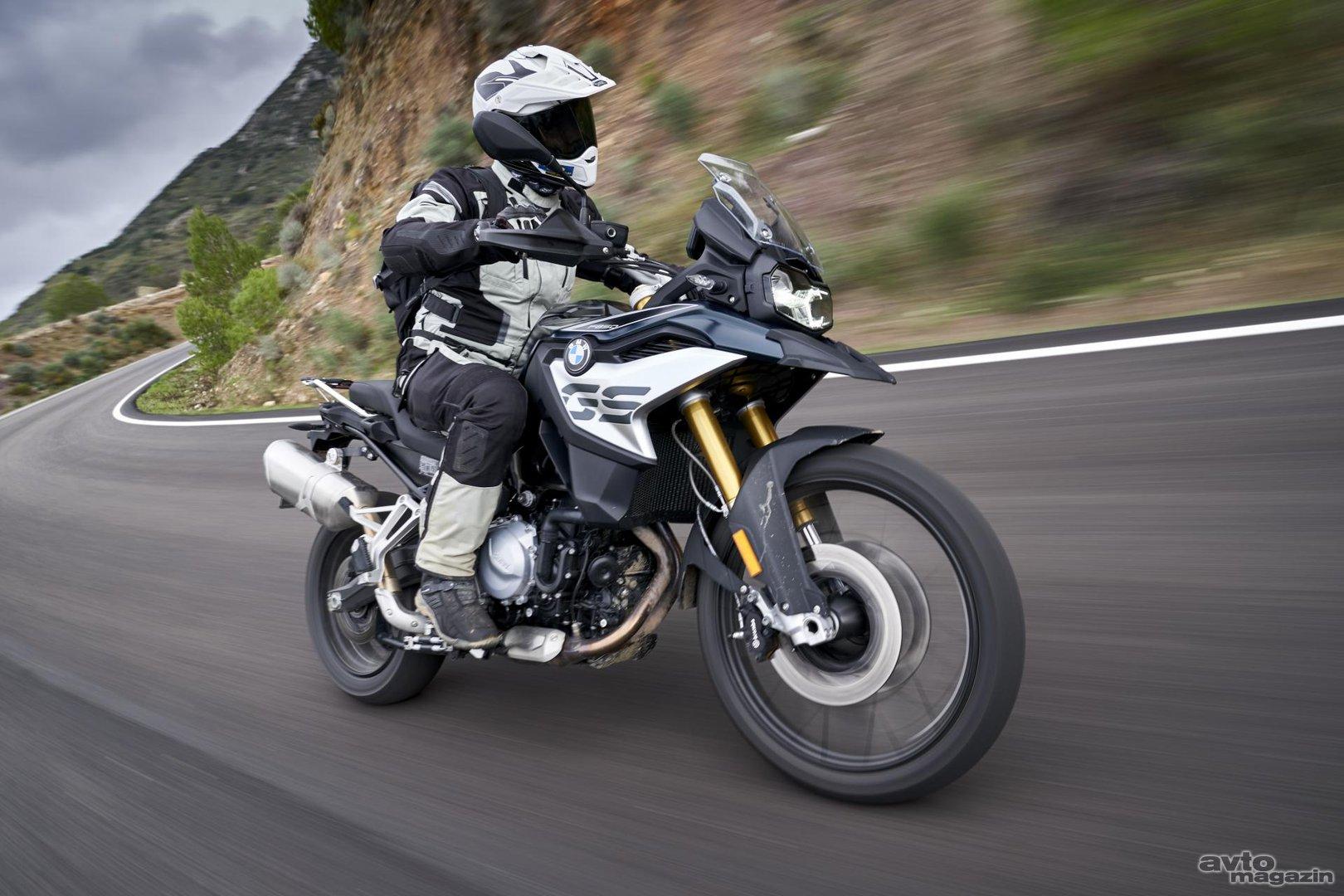 Bmw F 850 Gs In Bmw F 750 Gs Vozili Smo Moto Magazin