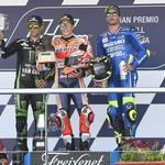MotoGP, VN Španije: Marquez v ospredju, za njim drama (foto: Dorna, Michelin, ekipe)