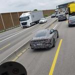 Zamaskirana BMW serije 8 in X5 opažena na nemški avtocesti (foto: Andrej Klemenc)