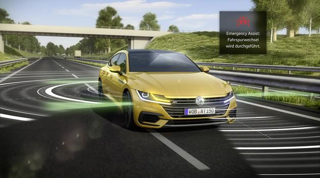 Do leta 2021 bo v avtomobilih obveznih 11 dodatnih varnostnih sistemov (foto: VW)