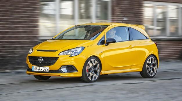 Znan je motor Opla Corse GSi (foto: Opel)