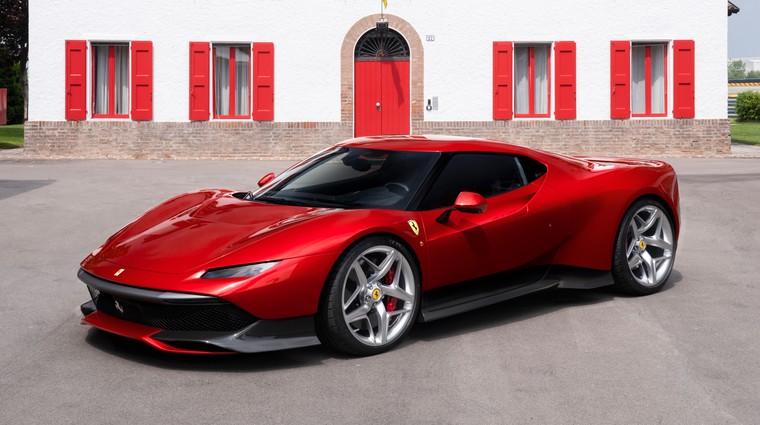 Ferrari SP38 nov unikat oddelka za posebna naročila (foto: Ferrari)