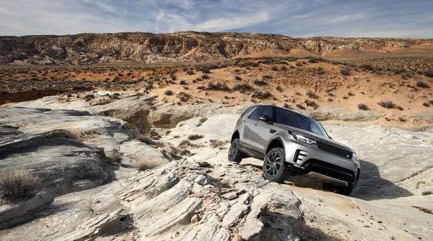 Avtonomni avtomobili po zaslugi Land Roverja tudi po brezpotjih (foto: Land Rover)