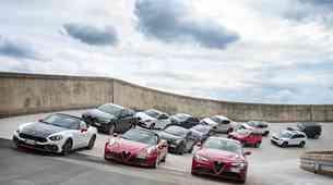 Koncern FCA napoveduje ofenzivo v novi petletki: Alfa Romeo bo obudila imeni GTV in 8C, Maserati pa pripravlja popolnoma električnega športnika