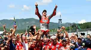 MotoGP: VN Italije, Mugello - rdeči Mugiallo*