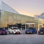 Prenovljena Toyota Aygo od zdaj tudi s platneno streho (foto: Toyota)