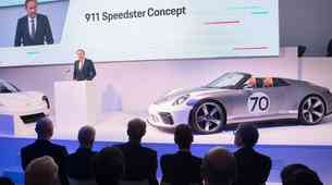 Porsche Mission-E dobiva novo ime: Taycan; predstavljen novi Speedster