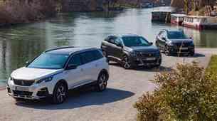 Primerjalni test: Peugeot 2008, 3008 in 5008