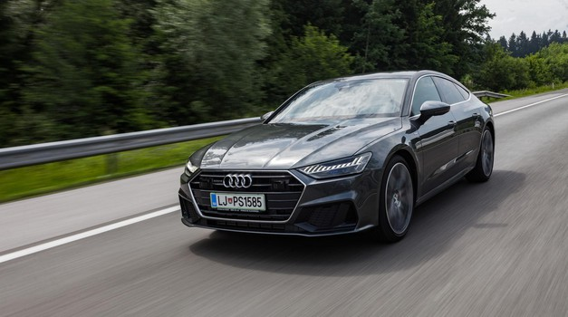 Test: Audi A7 50 TDI quattro (foto: Saša Kapetanovič)