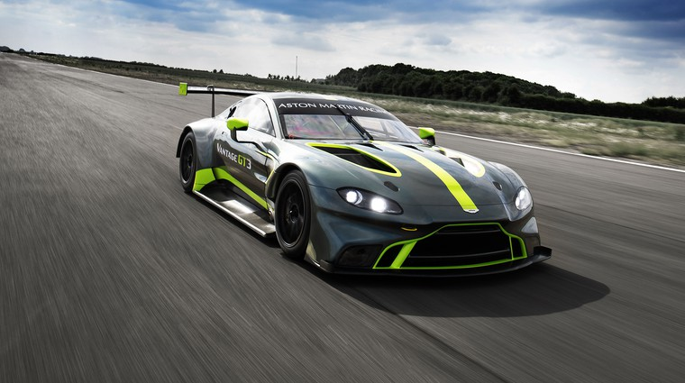Aston Martin napoveduje novo generacijo dirkalnikov za zasebne voznike (foto: Aston Martin)