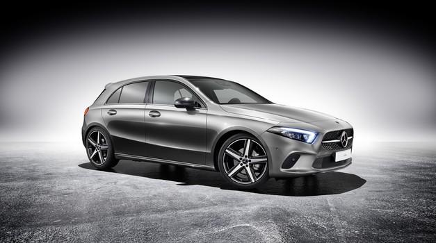 Hibridni Mercedes-Benz razred A že prihodnje leto (foto: Daimler AG)