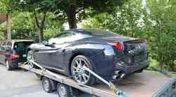 Koprska policija našla ukradenega Ferrarija